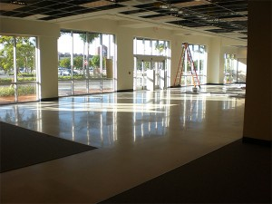 Polished Concrete Nordstrom Tampa